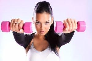 sports, Model, Women, Dumbbells, Fitness model