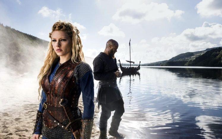 Vikings Tv Series Vikings Lagertha Lothbrok Katheryn