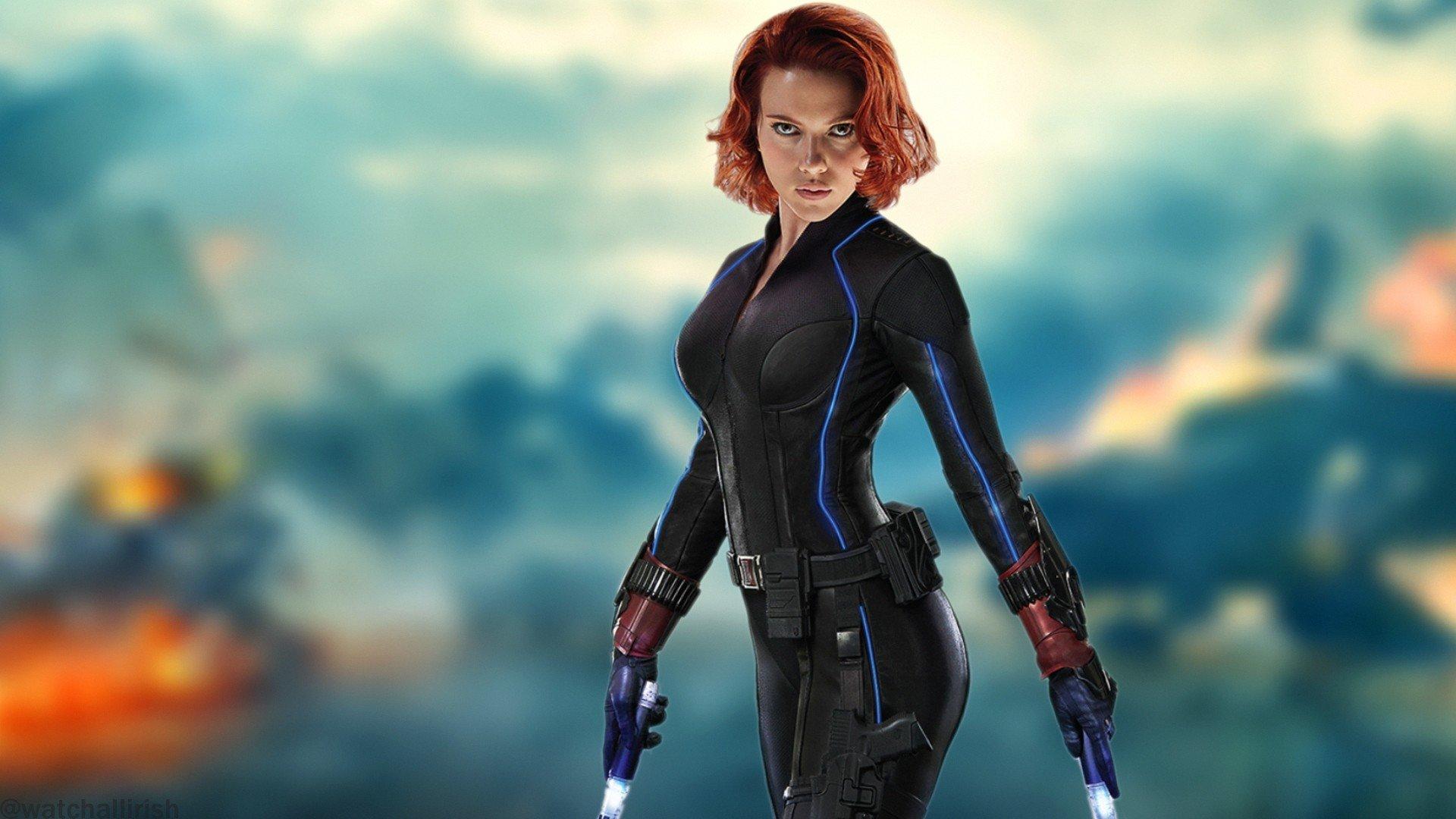 Scarlett Johansson, Redhead, Women, Black Widow, The