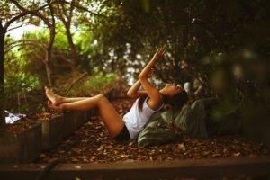 women outdoors, Model, Women