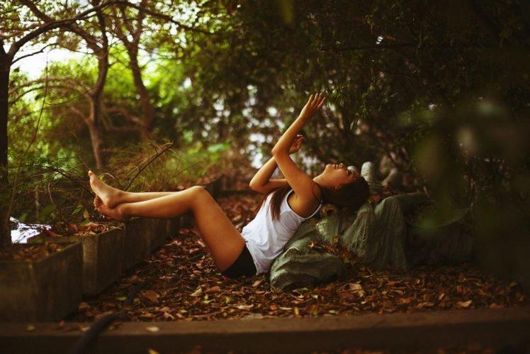 women outdoors, Model, Women HD Wallpaper Desktop Background