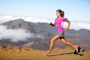 fitness model, Women, Running, Sports