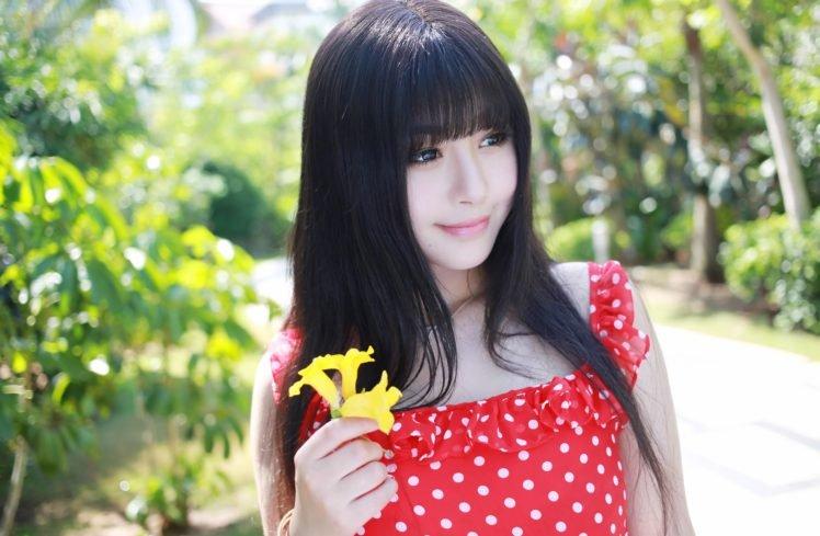 women, Asian, Xiuren HD Wallpaper Desktop Background