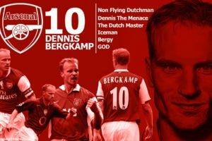 Dennis Bergkamp, Footballers, Arsenal Fc