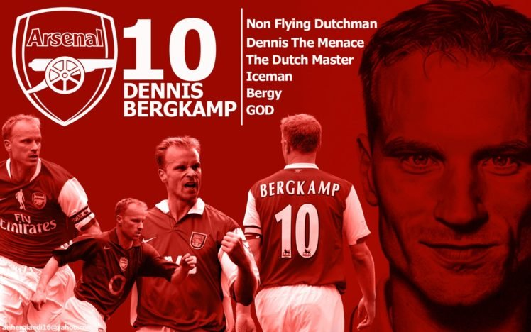 Dennis Bergkamp Footballers Arsenal Fc Hd Wallpapers Desktop And Mobile Images Photos