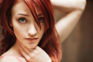Lindsaychelle Suicide, Redhead, Model, Eyes