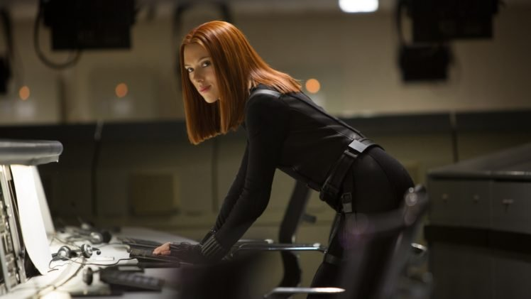 Scarlett Johansson, Black Widow, Women, Actor, Captain America: The Winter Soldier HD Wallpaper Desktop Background