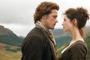 Outlander, TV, Caitriona Balfe, Sam Heughan