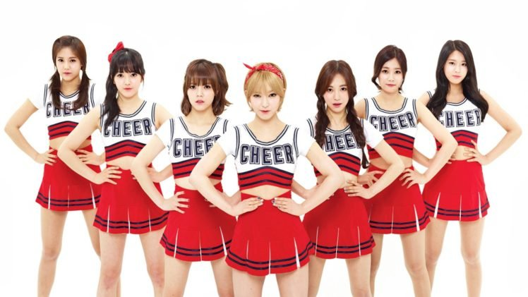 AOA, K pop, Women, Asian, Hyejeong, Chanmi, Choa, Kwon Mina, Yuna Seo, Seolhyun, Cheerleaders, Jimin HD Wallpaper Desktop Background