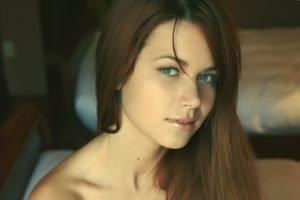 women, Brunette, Kamila Hermanova