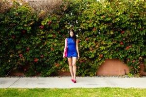 Alyson Grey, Model, Women, Armani, Blue