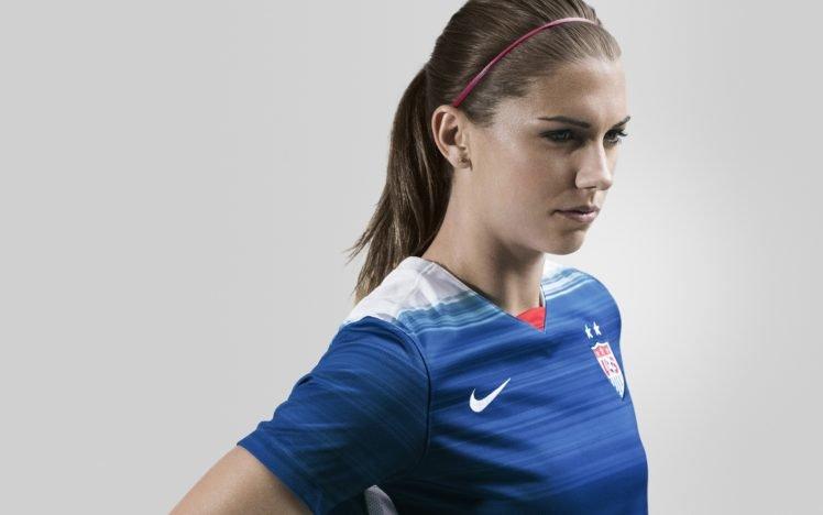 Alex Morgan, Soccer girls, Athletes, USA, Nike, Women HD Wallpaper Desktop Background