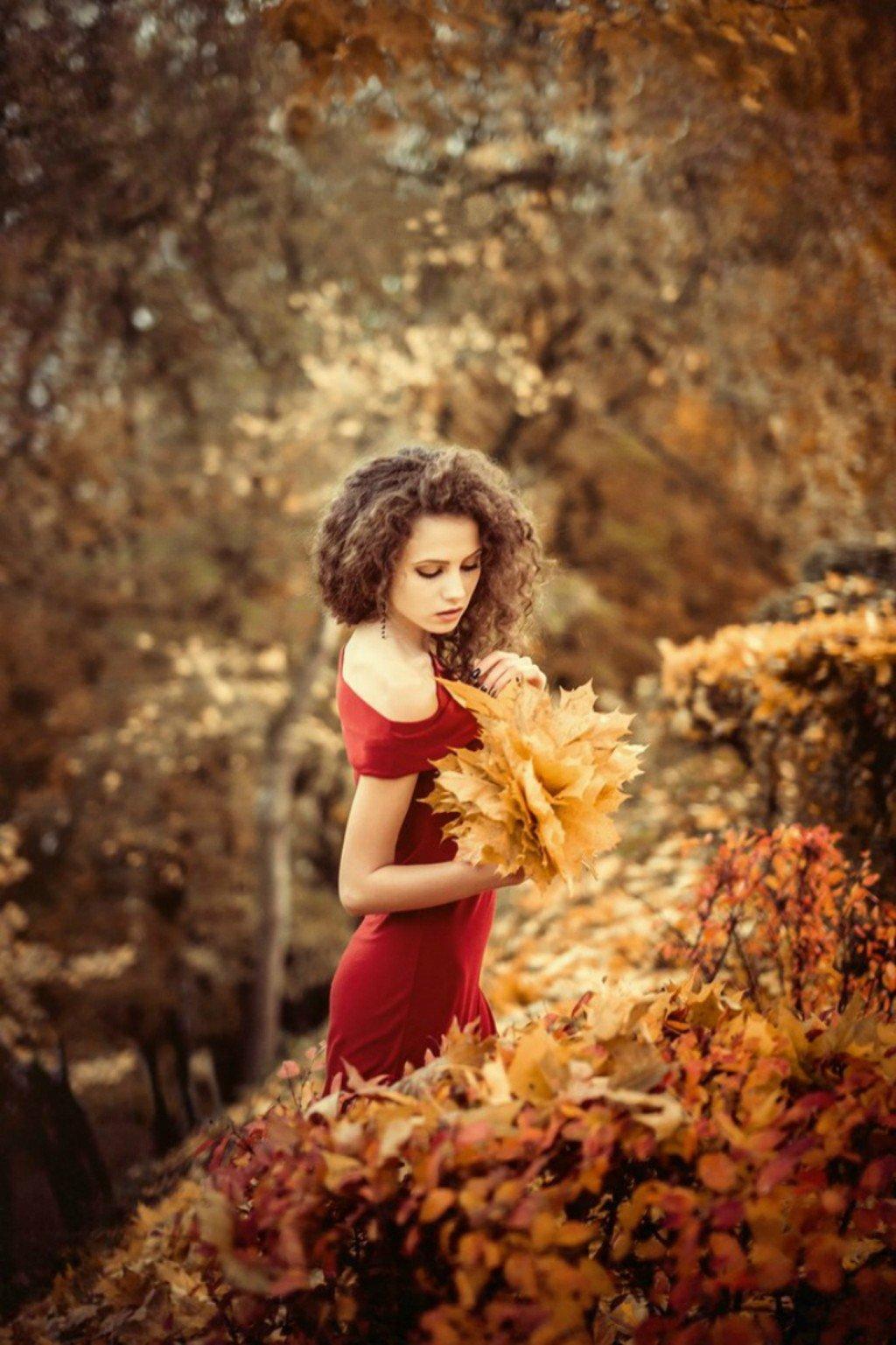 women, Brunette, Long hair, Women outdoors, Ksenia