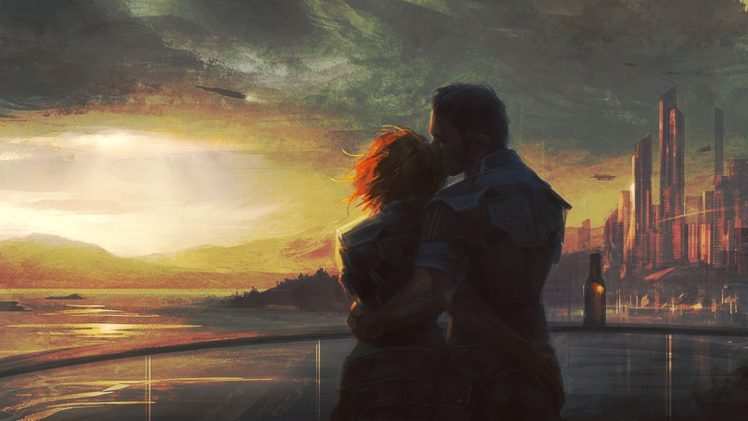 Mass Effect, Concept art, Painting, Artwork HD Wallpaper Desktop Background
