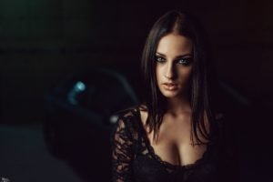 Alla Berger, Georgiy Chernyadyev, Cleavage, Women, Model