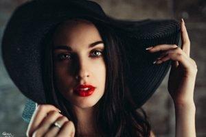 Alla Berger, Georgiy Chernyadyev, Women, Model, Face
