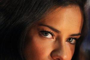 Adriana Lima, Brunette, Looking at viewer, Women, Model, Blue eyes