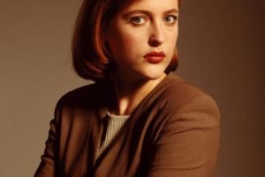 Gillian Anderson, The X Files, Arms crossed, Dana Scully, Redhead