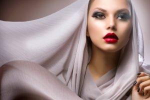 makeup, Face, Women, Model