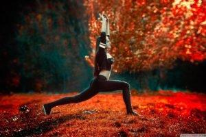 women, Exercise, Brunette