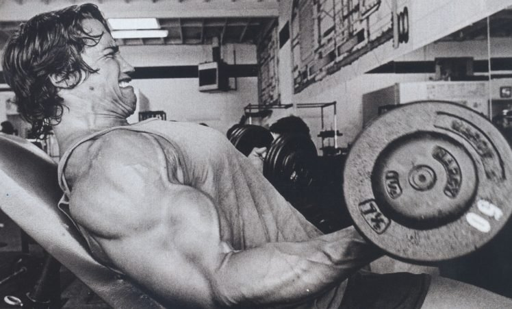 Arnold Schwarzenegger Bodybuilding Bodybuilder Working Out Exercise Muscles HD Wallpaper Desktop