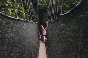 bridge, Model, Women, Women outdoors