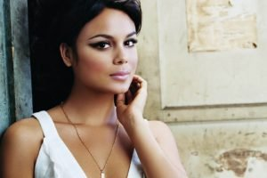 Nathalie Kelley, Women, Face, Brunette