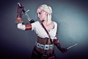 The Witcher, Cosplay, The Witcher 3: Wild Hunt, Sword, Alzbeta Trojanova, Ciri