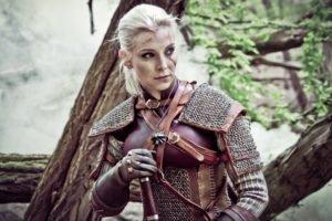 The Witcher, Cosplay, The Witcher 3: Wild Hunt, Sword, Alzbeta Trojanova