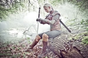 The Witcher, Cosplay, The Witcher 3: Wild Hunt, Sword, Alzbeta Trojanova
