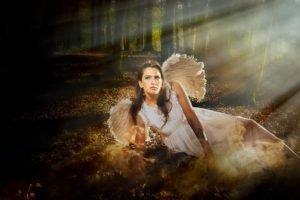 angel, Women, Women outdoors, Model