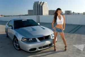 women, Model, Motors, Sports car, City, Miniskirt