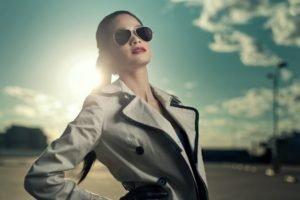 model, Women, Glasses, Sunlight