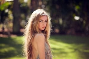 model, Blonde, Women, Women outdoors, Freckles