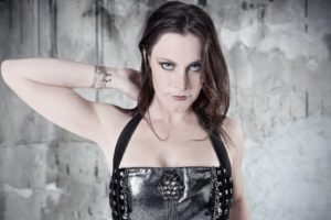 Floor Jansen, Nightwish, Women, Leather clothing, Brunette, Singer