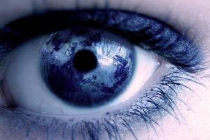 eyes, Closeup