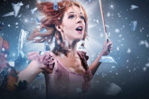 Lindsey Stirling, Women, Redhead, Singer, Violin