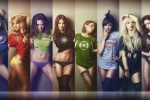women, Women outdoors, Marvel Super Heroes