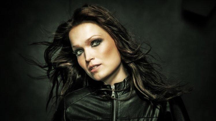 Tarja Turunen, Singer, Women, Brunette, Nightwish, Green eyes HD Wallpaper Desktop Background