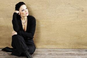 Tarja Turunen, Singer, Women, Brunette, Nightwish, Gray eyes