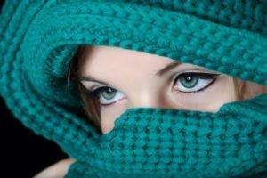 eyes, Model, Women