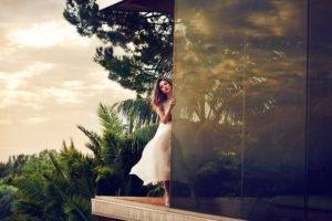 Jessica Alba, Movies, Women, Glass, White dress