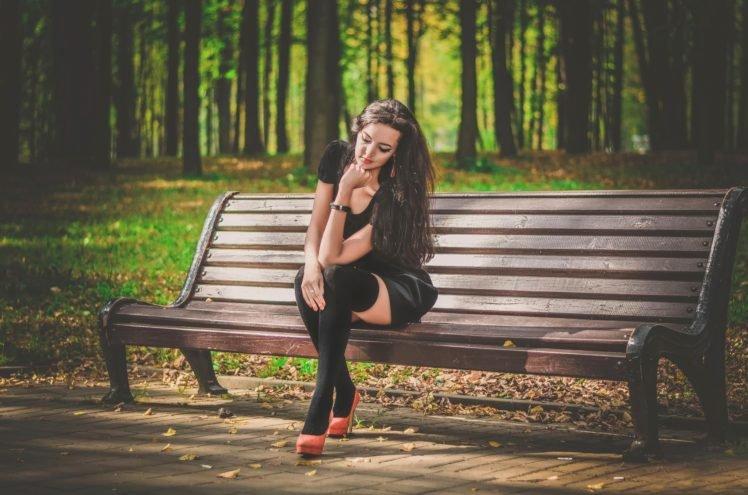 women, Model, Nature, Trees HD Wallpaper Desktop Background