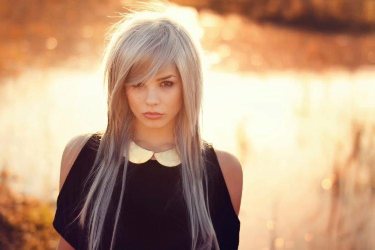 women, Model, Blonde, Face HD Wallpaper Desktop Background