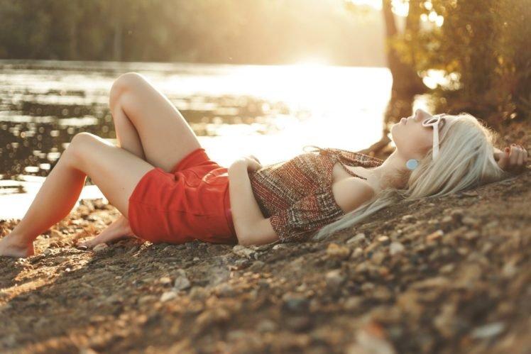 women, Model, Blonde HD Wallpaper Desktop Background