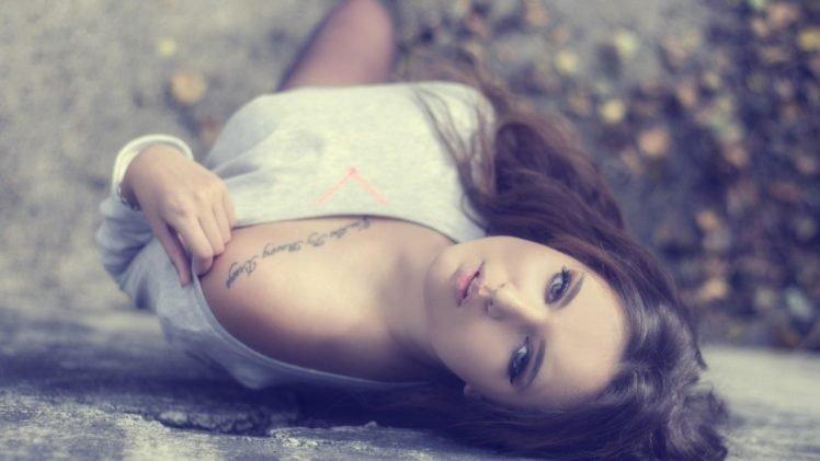 women, Model, Tattoo, Face, Walls HD Wallpaper Desktop Background