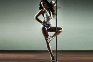 women, Model, Ballerina, High heels, Pole dancing