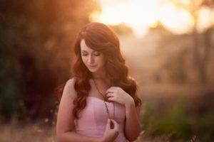 women, Model, Redhead, Face, Portrait