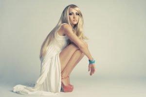women, Model, Blonde