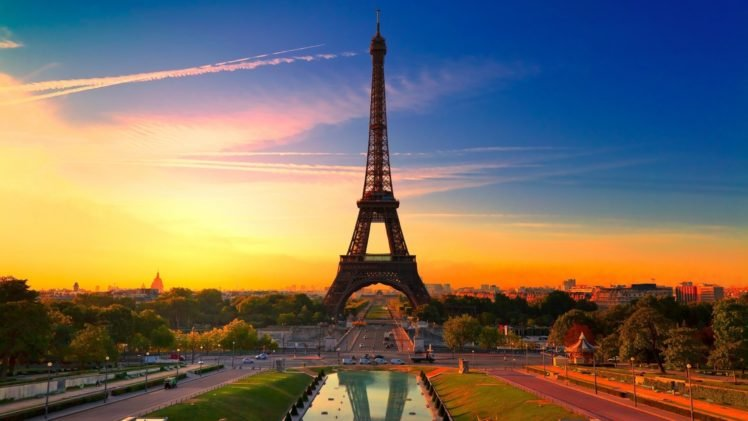 Paris, Eiffel Tower, France HD Wallpaper Desktop Background
